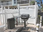 Gas grill for your use.