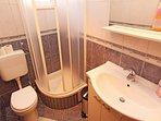Zeleni (2): bathroom with toilet