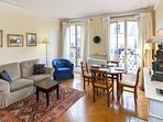 Three bedrooms  2 bath  Paris Luxembourg district (585)