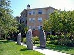 The impressive entrance to Avalon Silicon Valley