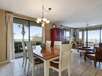 This ground floor condo offers a wrap around balcony. All 3 bedrooms can exit from the balcony doors