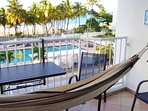 Lay in the hammock, listen to the Tradewinds and waves, the Lullaby of the Sea.