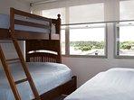 Third bedroom sleeps up to 4 comfortably.