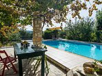 pool to share wjth next door house