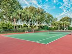 Tennis courts, Basketball, Shuffleboard and Volleyball