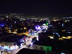 'La setenta', the 70 street, a view of the active nightlife of Medellin