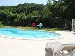 La piscine partagée des Vergers de la bouligaire