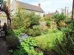 Raven Cottage back garden