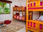 Bedroom 4, 4 single beds
