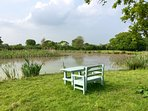 Beautiful picnic setting or chill Lake-side with a good book