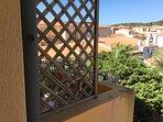 Vista dal balcone e dalla camera da letto
