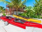Our tandem sailing kayaks