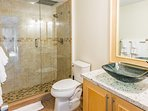 bathroom with full size shower