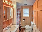 Freshen up for the day in the pristine bathroom!