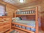 Talk into the hours of the night with your roommate in this twin-over-queen bunk bed.
