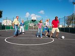 Make use of the Muti-Functional sports facilities on site