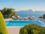 Villa Penelope Boundless Sea & Mountain Views to the Horizon