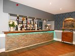 Bar beautifully refurbished in the clubhouse Dec 2016