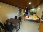SIMPLEST LIVING FACILITY IN THE SOUL OF THE MUNNAR  KITCHEN FACILITY AND HOT WATER AVAILABLE .