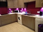 Gorgeous kitchen with all the appliances you will need to make your stay a relaxed one