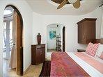 Bdrm/suite #3 King size bed en-suite bath