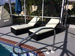 HEAVEN IS - HAVING A SUNLOUNGER AT A POOL NEW SUN LOUNGERS DECEMBER 2016 - CONTEMPORARY DESIGN -