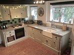 The beautiful country kitchen