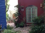 Back of the casita seen from the patio.