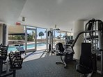 Pelican Gym. Complimentary for guests