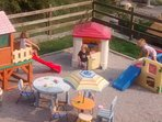 Kid friendly house: the playground for kids