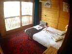 Room 1 has stunning views over Plagne centre