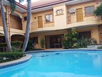 Pool is filled with Natural Hot Spring water from Mt. Makiling. Natural, Fresh, Chlorine-Free