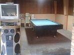 Karaoke and Billiard table