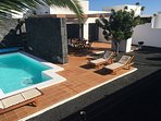 Villa Bellavista A5 con vista, piscina climatiza
