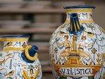 Le ceramiche di Montelupo, cittadina a pochi Km.