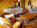 Main level sleeper sofa