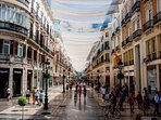 explore the old city center of Malaga