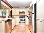 Fully Equipped Clean Kitchen