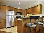 The Fully Equipped Kitchen is Available for All your Needs During your Stay