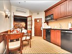 Functional Kitchenette and Dining Area