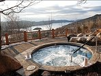 Unwind in the Common Area Hot Tub