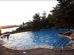 Enjoy the Spectacular Views From the Pool During the Summer
