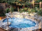 Enjoy the Common Hot Tub All Year Round