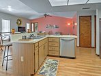 Prepare delicious meals in the fully equipped kitchen!