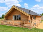 Otter Holt, 1 of 6 luxury lodges at Fields End Water Holiday Park.