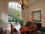 Beautiful formal dining areas