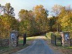 Beautiful private driveway