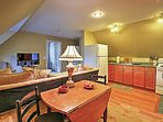 Gather around the lovely dining table for some quality time while enjoying your delicious home cooked meal.