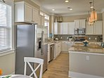 Create a homecooked masterpiece in the fully equipped kitchen!