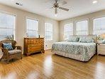 Beautiful King Bedroom!